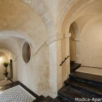 13 building '700 staircase modica sicily